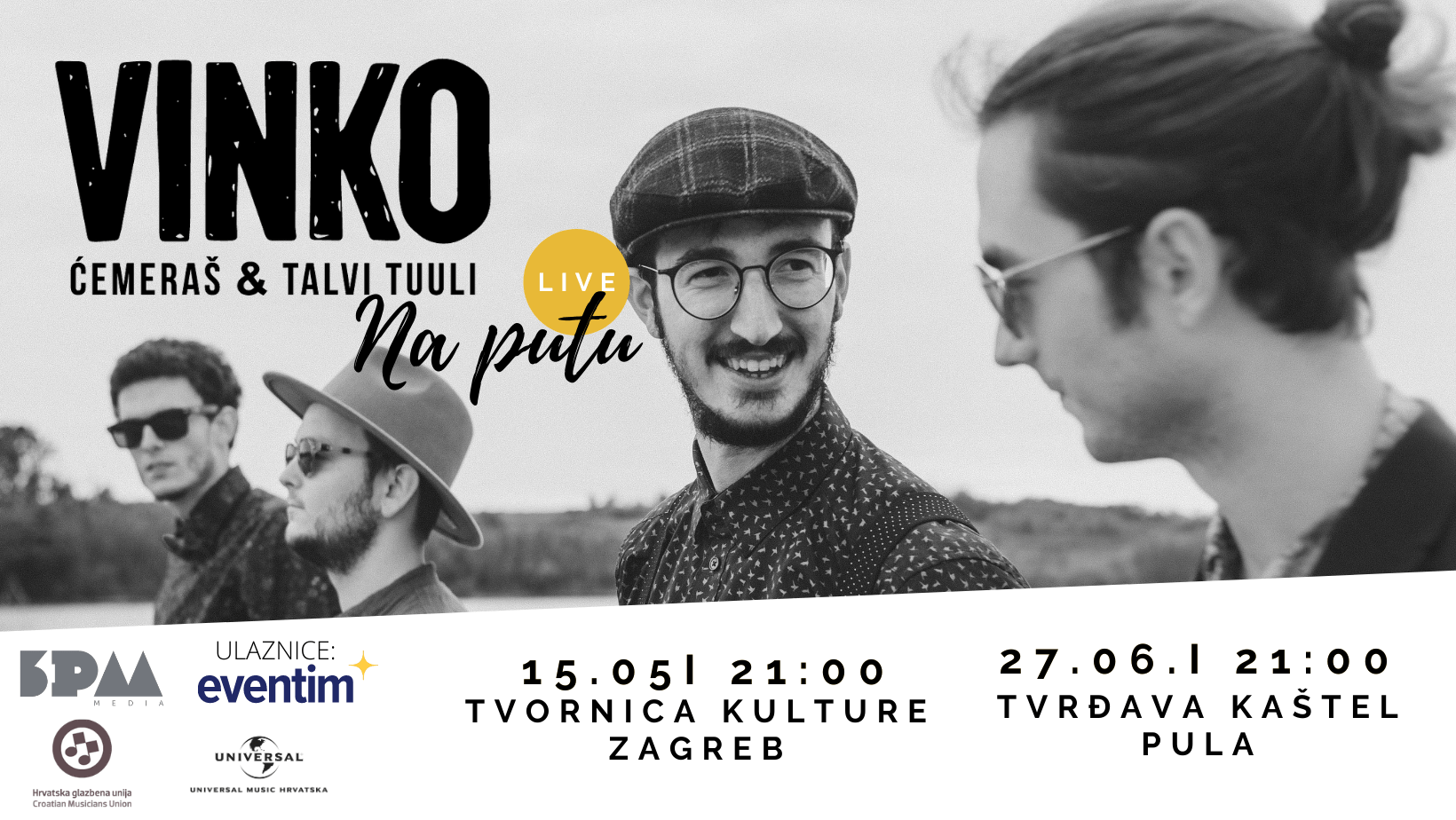 """Vinko Ćemeraš & Talvi Tuuli - """"Na putu"""""""